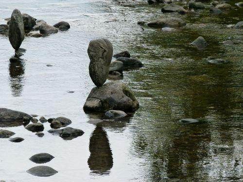 stones water silent