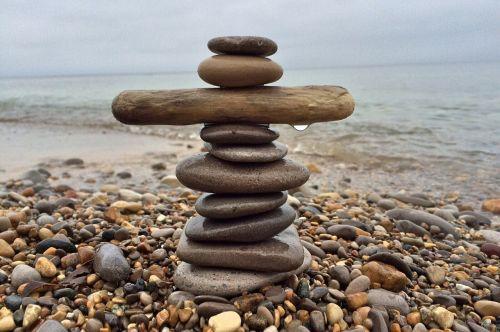 stones stacked balance