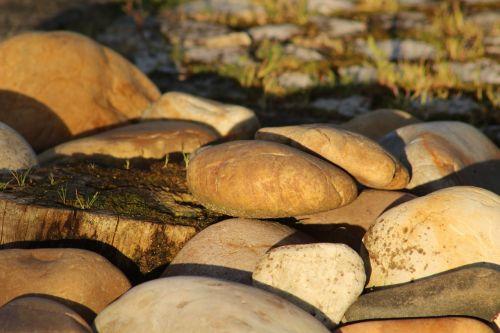 stones deforestation boulders