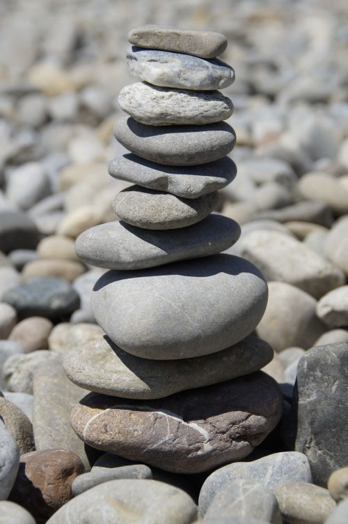 stones stone tower stack