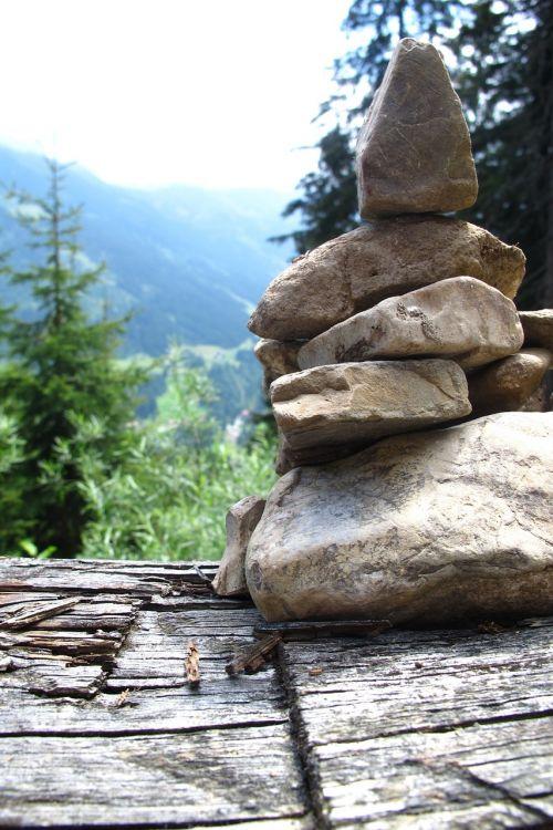 stones pile austria