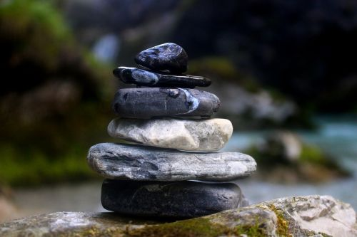 stones wellness relaxation