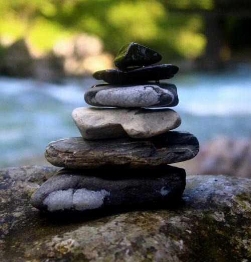 stones massage balance