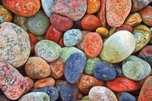 stones rocks pebbles