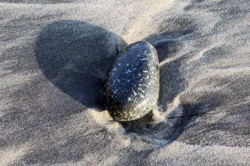 stones beach sandy beach