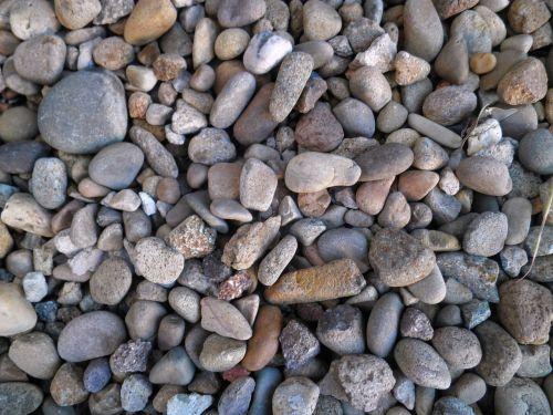 stones pebbles ground
