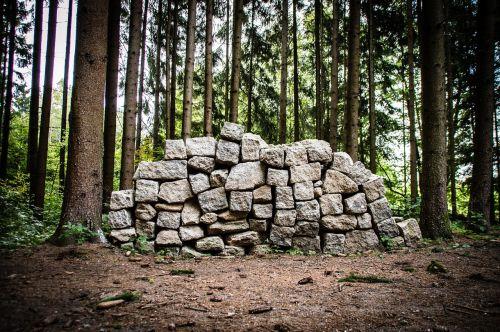 stones granite structure
