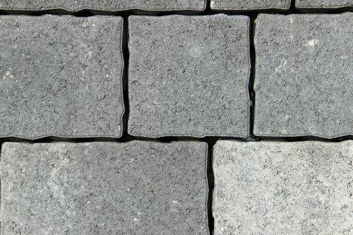 stones  grey  concrete
