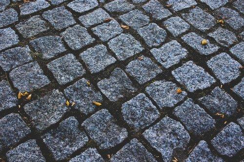 stones  ground  paving stones