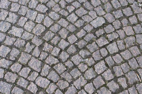 stones ground cobblestones