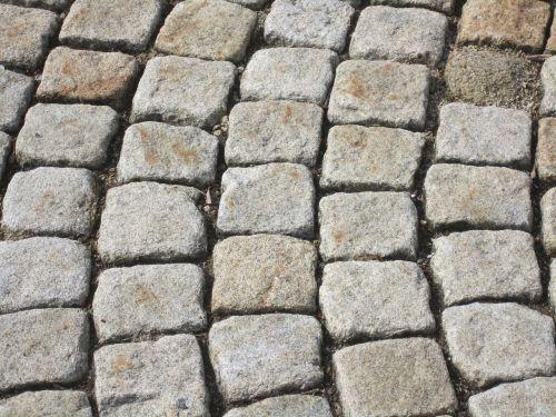 stones paving stones pattern