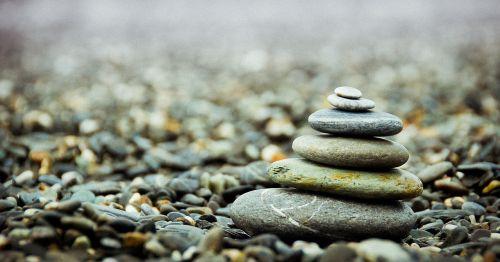 stones pebbles stack