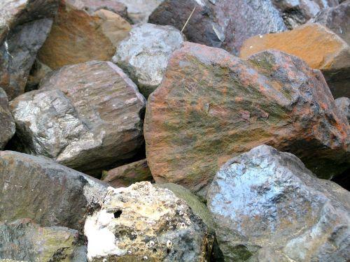 stones cairn nature