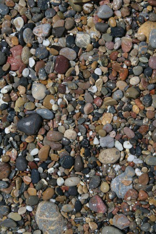 stones pebble beach