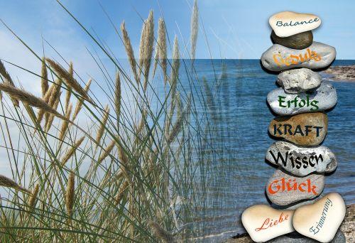 stones balance success