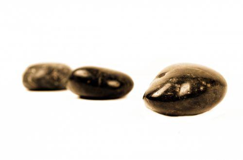 Stones On The White