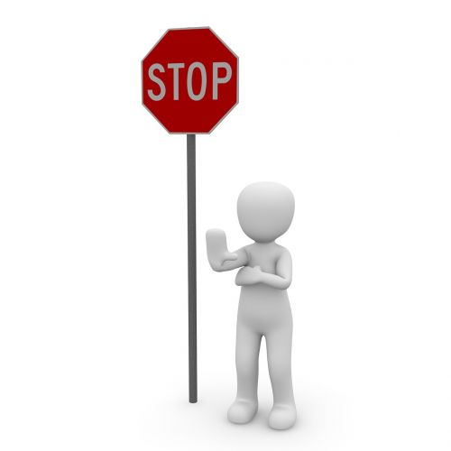 stop containing street sign