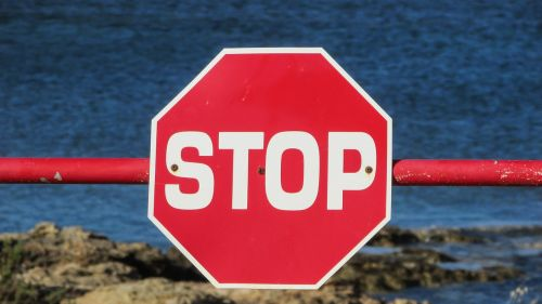 stop sign stop sign