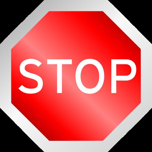 stop octagon traffic sign