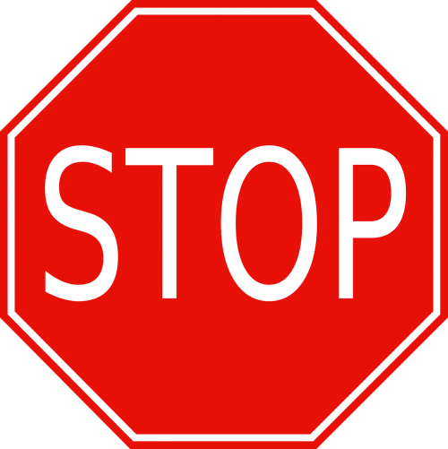 stop roadsigns street