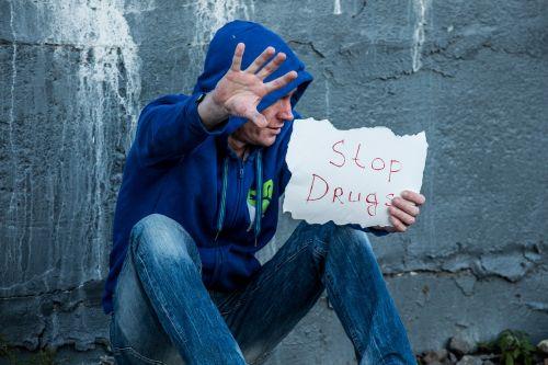 stop drugs addict