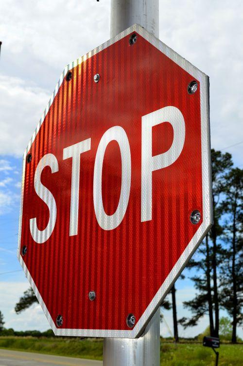 stop sign alert