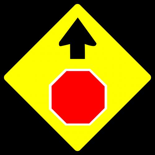 stop warning caution