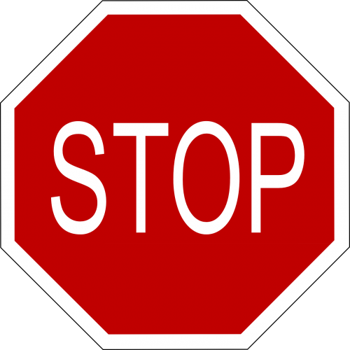 stop signs transportation