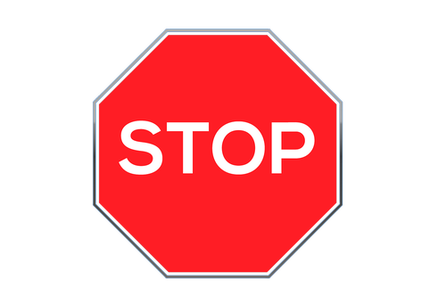 stop  road sign  stop-sign