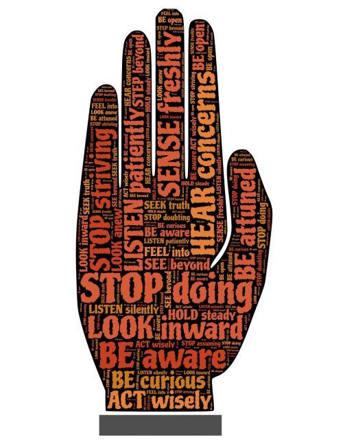 stop halt warning