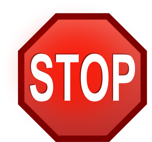stop shield traffic sign