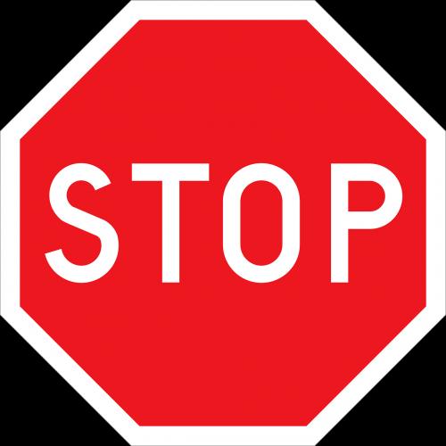 stop road sign roadsign