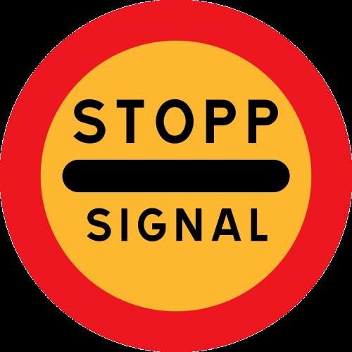 stop wait signal