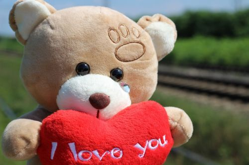 stop children suicide teddy bear crying railway