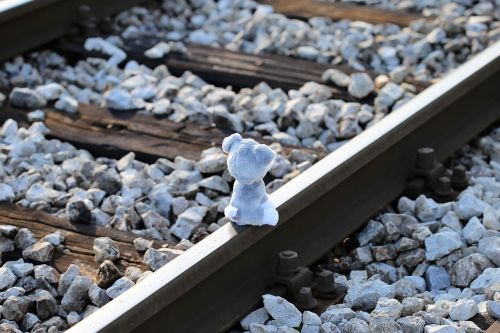 stop children suicide teddy bear still waiting for lost friend