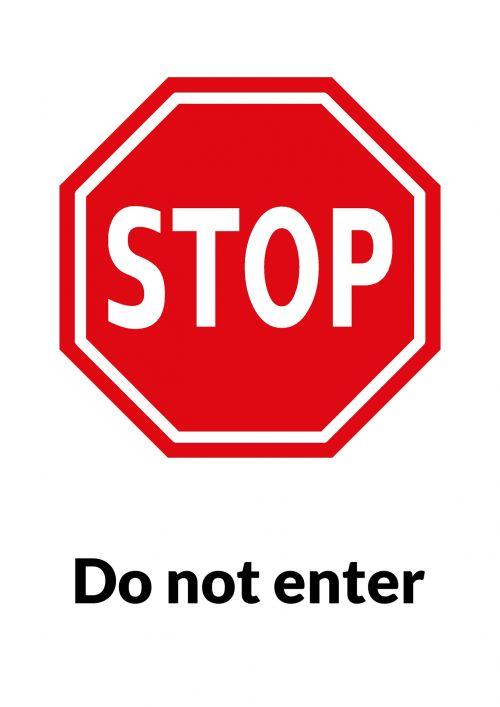 ženklas, įspėjimas, įspėjimas & nbsp, ženklas, įveskite, raudona, juoda, balta, sustoti neužsiregistravote