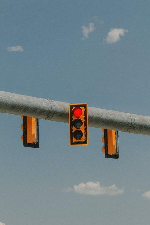 stop light  stop lights  sky