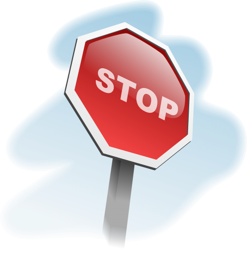 stop sign traffic sign stop