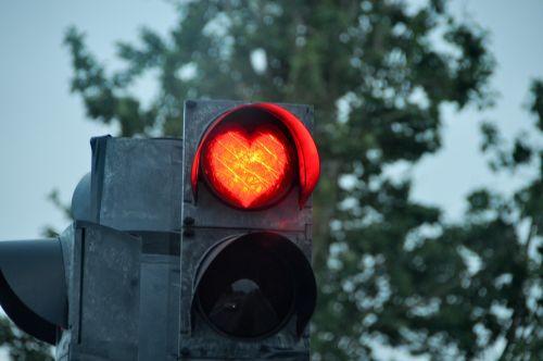 stoplight heart road