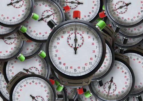 stopwatch time clock