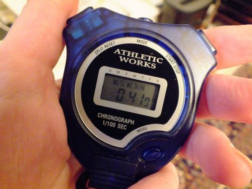 stopwatch timer chronometer
