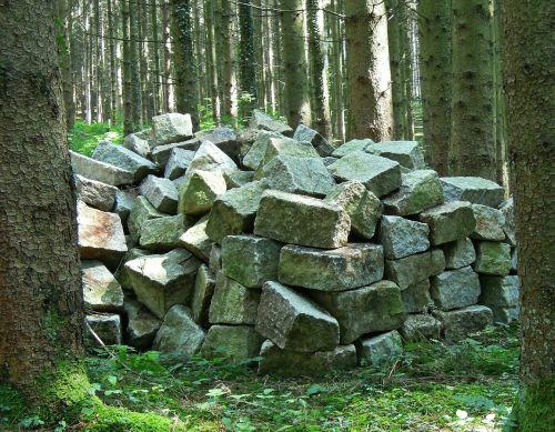 storage stones forest