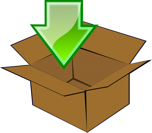 storage icon container