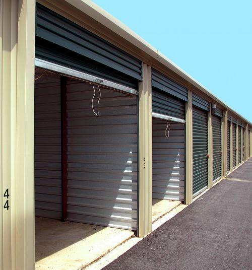 Storage Warehouse Bins