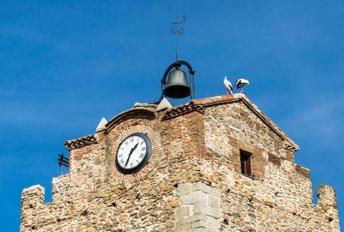 stork people bell tower