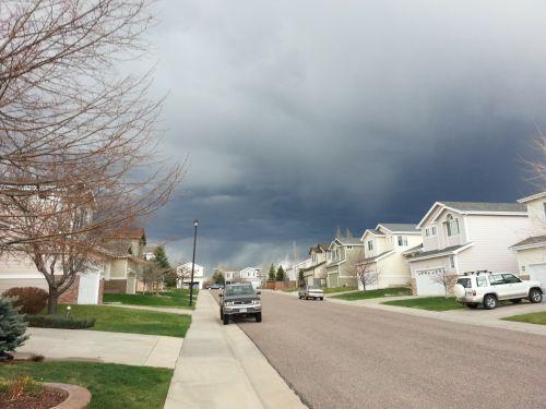 storm neighborhood street
