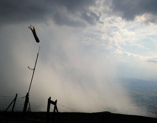 storm cumulonimbus rain