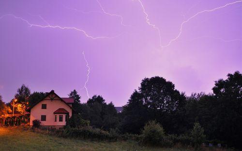 storm weather night