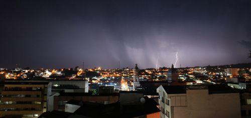 storm rays thunder
