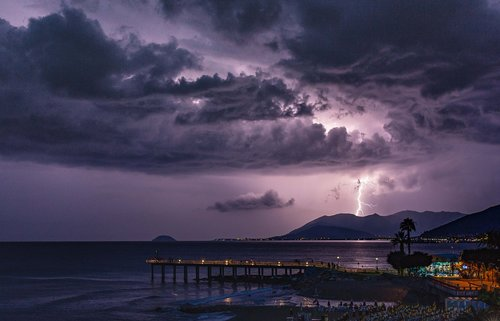 storm  thunder  thunderstorm